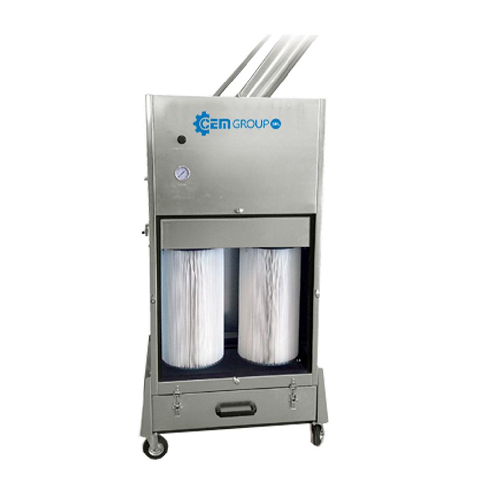 unità filtrante portatile ICAF
