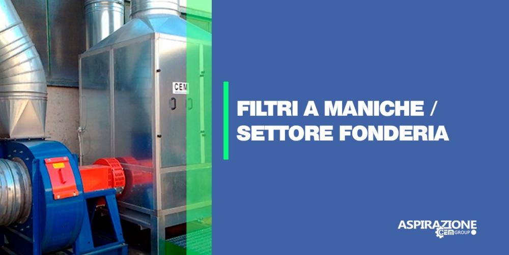 Filtri a maniche / settore fonderia